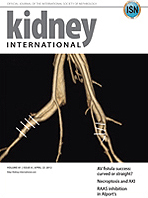 Kidney International の表紙