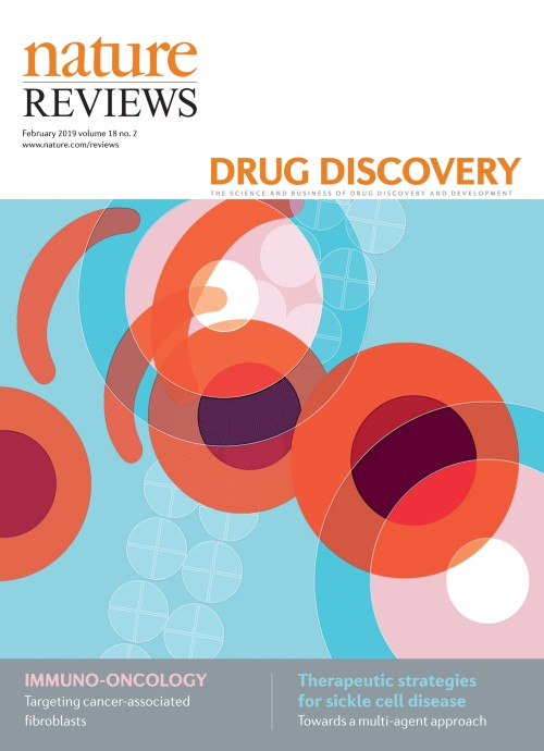 Nature Reviews Drug Discoveryの表紙