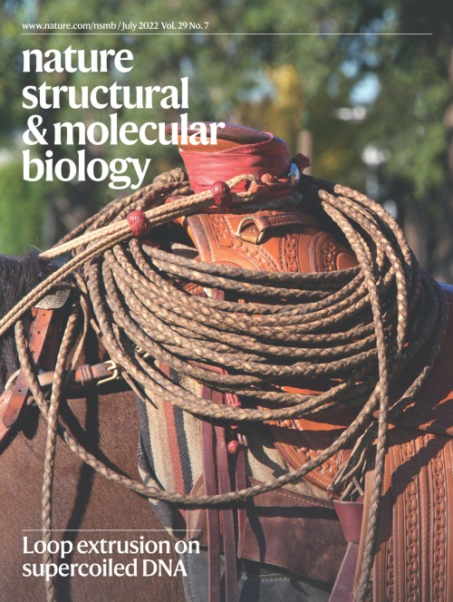 Nature Structural & Molecular Biologyの表紙