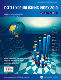 Nature Publishing Index 2010 - Asia Pacific (opens in a new window)
