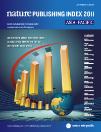 Nature Publishing Index 2011 - Asia Pacific (opens in a new window)
