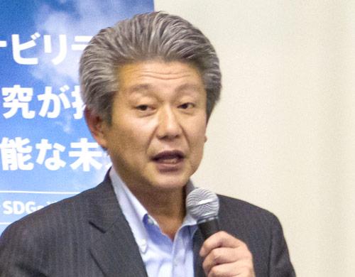 泉谷満寿裕(いずみや・ますひろ)氏