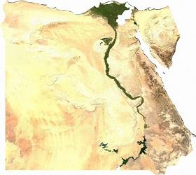 95% of Egyptians live and develop along the Nile. The 'development corridor' project hopes to create a parallel basin within the desert.