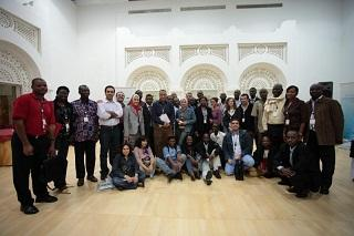 Mentees from SjCOOP Phase 1 meeting in Doha, Qatar, in 2008