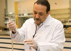 Azzazy and his team are trying to tackle Hepatitis C, the most serious health threat in Egypt.