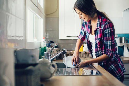 Even simple, daily house chores can help protect against heart disease.