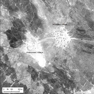 The U2 images of southern Iraq present the layout, size, and environmental position of Marsh Arab communities in the late 1950s and early 1960s.