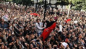 Protests that started in Tunisian universities in December 2010 was the first spark of the Arab Spring.
