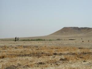 Mounds of earth covering ancient human settlements, such as Tell Brak in northeastern Syria, can now be analysed remotely using satellite imagery.