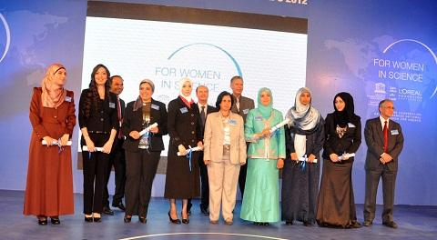 Eight Arab women researchers were honoured for their exceptional work.