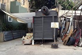 Diesel generators are widespread across Lebanon to cover periods of electricity downtime.