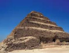 The Saqqara pyramid is the first one built in Egypt