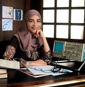 Born in Saudi Arabia, Hayat Sindi is a strong proponent for gender balance in the science profession.