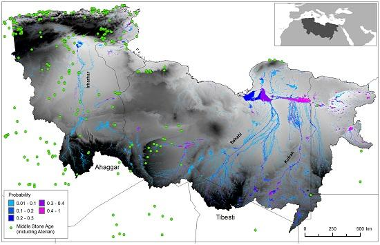 ancient rivers tell story of first migration news nature middle east