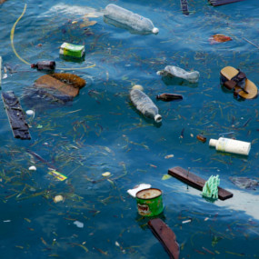 Up to 40,000 tonnes of plastic are floating on the surface of oceans