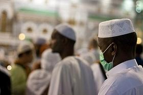 Pilgrims were urged to take all necessary measures against H1N1 during the 2009 Hajj.