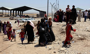 Thousands of Iraqis, including many researchers and students, are fleeing Mosul to escape the fighting