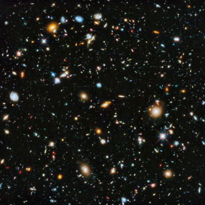 The new theory suggests the universe was much smaller in the past, but it was never a singularity